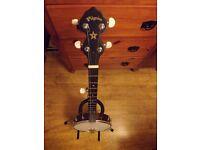 Pilgrim 5 string banjo