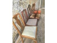 Selection of Chairs- perfect for upcycling