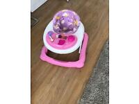 Baby walker play station
