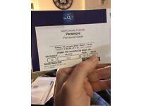 Paramore tickets 12/1/18 London o2