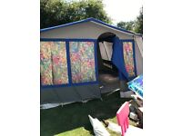 Cabanon Frame tent 6 berth excellent condion
