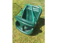 Baby seat for garden swing