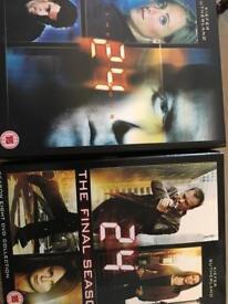 24 dvd seasons 4 and 8