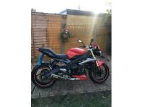 Triumph street triple 675 r mint condition 15 plate very low miles not Ktm xt r6 r1 Gsxr mt yzf wr