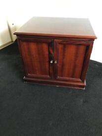 Dark wood Cabinet for cutlery and china