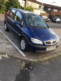 Vauxhall zafira 2005 1 year mot