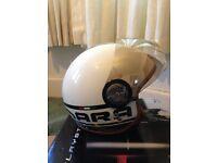 retro style scooter helmet