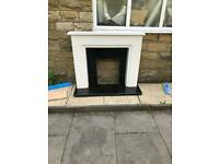 Full new Marble Fireplace
