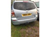 2005 Toyota Corolla Verso tspirit 2.0 d4d,7 seater,low mileage