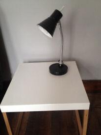 "Anton from ""North Light"" black, table lamp 39cm E14 40W"