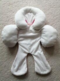 Newborn baby soft car seat support cushion