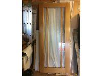 3 Panel Glazed Interior Door Worcester Oak Wood Door