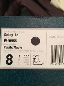EMU Australia Mauve Boots Size 6