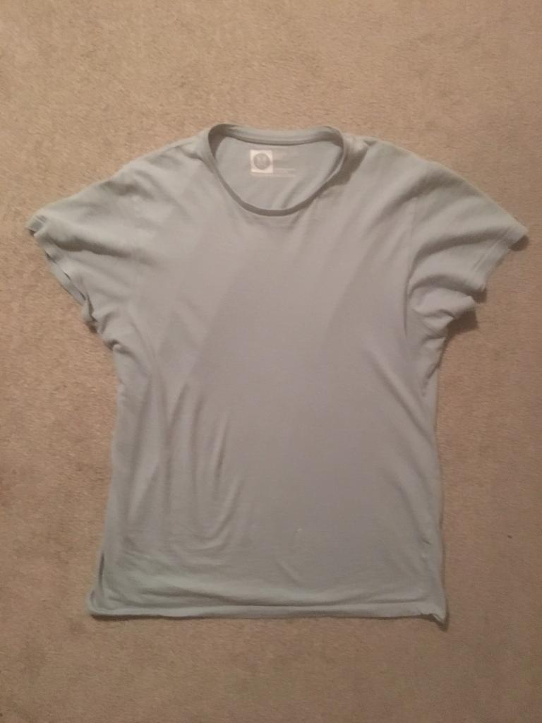73a27d78 Primark Cedar Wood State Men's Medium Light Green Slim Fit T-Shirt ...