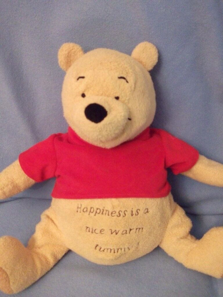 Winnie the pooh soft toy/ hot water bottle cover.