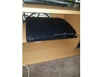 Playstion 3 ( slim ps3) 160gb with 14 games and 2 controllers