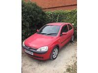Vauxhall Corsa 1.2 2002 SXI 16V - good condition in need of work