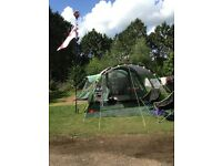 Outwell Montana 6 Tent with extension, carpet and footprint