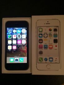 Iphone 5s space grey boxed