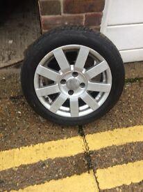 4x ford puma alloy wheels
