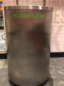 Melin oil filter machine