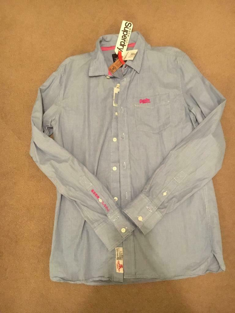 2307d3859 Superdry men s shirt long sleeves XL brand new. Letchworth Garden City ...