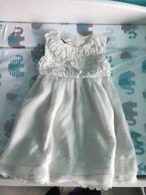 Baby girl christening dress 3-6 months!