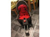 Hamax Siesta Rear Child Bike Seat (with lockable bracket)