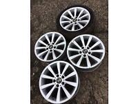 Bmw E90 325 17'inch Alloy Wheels