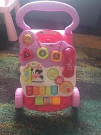 V tech baby walker and mothercare aeroplane e baby walker