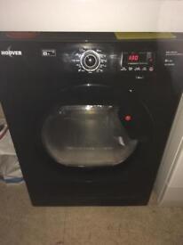 Hoover 8kg black condenser tumble dryer
