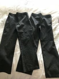 Two pairs maternity jeans from next 16 petite
