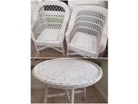 Garden Rattan furniture (Table with Chairs)