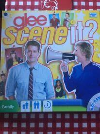 Glee scene it board/dvd game