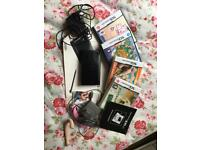 Nintendo DS lite + games + all adapters