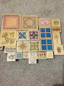 22 Rubber Stamps