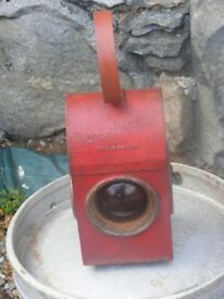vintage road lantern for sale