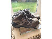 Hi Tec Women's Walking / Hiking Boots Size 8 UK Brown