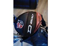 Wilson Staff Driver D200 10.5 For Sale. Regular Shaft. Rarely used. Excellent condition