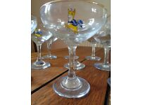 BABYSHAM GLASSES, PONY and other Vintage Glassware Collection. In excellent condition £5 each.