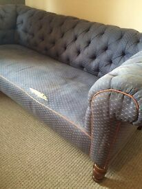 Antique chesterfield sofa for sale