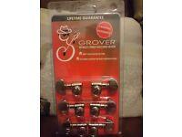 Grover Rotomatic 102 (Chrome) Machine Heads / Tuners - BRAND NEW UNOPENED