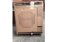 LINDAM SAFE & SECURE PLAYPEN WITH MAT