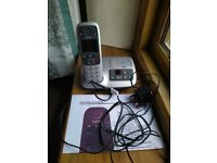 Siemens cordless telephone and answer machime