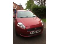 58 Punto 1.4. No mot . Abs and airbag lights on. Drives and looks good