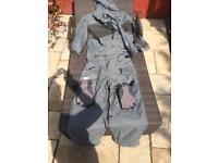 Ski wear jacket and bottoms and gloves size xl