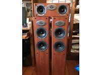 Celestion F30 Floor Speakers and Centre Speaker