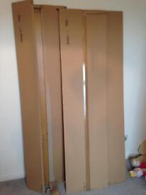 Ikea wardrobes and chestdrawers