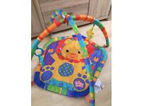 Bright starts baby play mat / play gym with toys