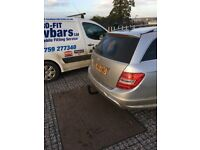 Towbars fitting service